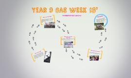 Year 9 cas week presentation