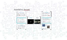 Annelid vs. Ascaris