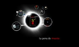 Pena de muerte en México