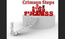 Copy of Crimson Steps to Success