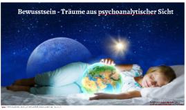 Träume aus psychoanalytischer Sicht