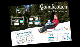 Gamification in online finances