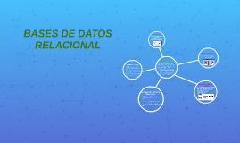 BASES DE DATOS RELACIONAL