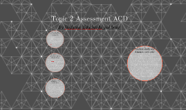 Topic 2 Assessment ACD