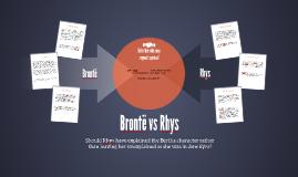 Brontë vs Rhys