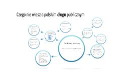 Czego nie wiesz o polskim długu publicznym