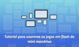 Tutorial para usarmos os jogos em flash do mini mandriva