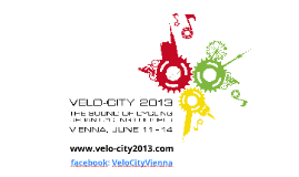 Velo-city 2013 Vienna_General Info_ENG_20130307