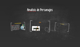 Analisis de Personajes