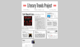 Literary Trends Project