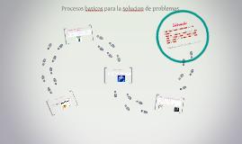 Copy of Procesos basicos para la solucion de problemas