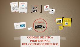 PRINCIPIOS ETICOS DEL CONTADOR PUBLICO