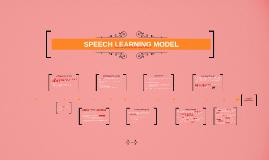 SPEECH LEARNING MODEL