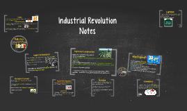 Industrial Revolution Notes