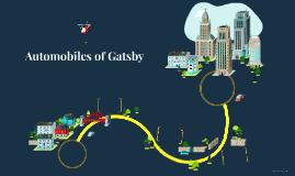 Automobiles of Gatsby