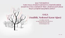 ANKA (Analitik Nedensel Karar Ağacı)