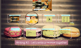Writing #2 - Let's write a receipe together