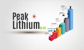 Lithium Peak Status