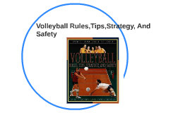 Very Basic Volleyball Rules