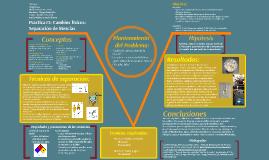 505–A–2 Práctica 3: Cambios físicos: Separación de Mezclas