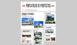 Copy of PORTAFOLIO DE PROYECTOS