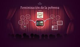 Feminización de la pobreza