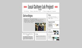 Local Culturw Lab Project
