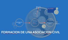 FORMACION DE UNA ASOCIACION CIVIL