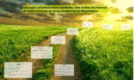 Copy of Educação a distância entre realidades: uma análise do proces