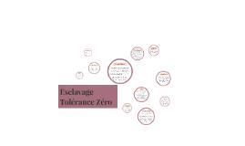 Esclavage Tolérance Zéro