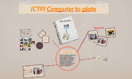 CTP (Copy of Computer to plate)