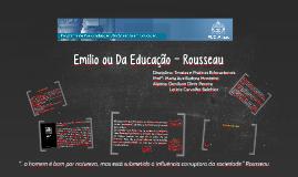 Emílio ou Da Educação - Rousseau