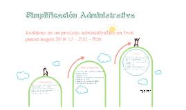 Simplificación Administrativa: DS - N° 07 - 2011 - PCM
