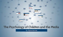 The Psychology of Children and the Media