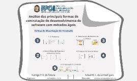 Análise das principais formas de contratação de desenvolvimento de software com métodos ágeis