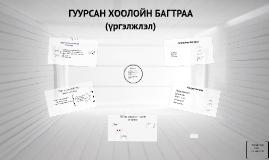 Copy of ГУУРСАН ХООЛОЙН БАГТРАА