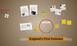 England's First Colonies