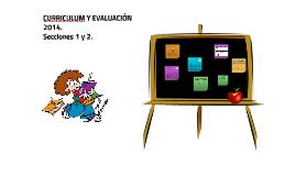 CURRICULUM Y EVALUACIÓN 2014.