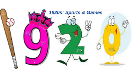 1920s: Sports & Games
