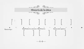 Historia de la ética