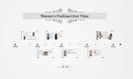 Change in Women's Fashion Over Time