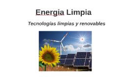 Tecnologias Limpias 20160620