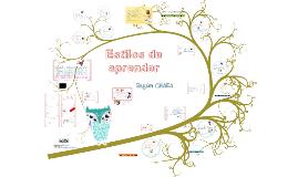 Máster 2014 -Aprender a pensar - Estilos de Aprendizaje-TEORÍA CHAEA