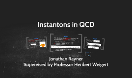 Instantons in QCD