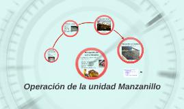 Operacion unidad Manzanillo