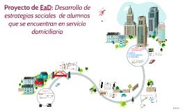 Proyecto de EaD: Desarrollo de estrategias sociales  de alum