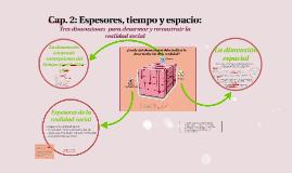 Copy of Espesores, tiempo y espacio