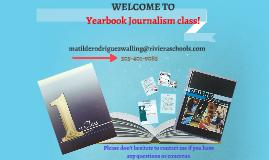 YEARBOOK JOURNALISM