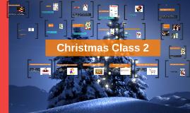 Christmas Class 2