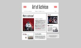 Art of Activism/Act of Artivism